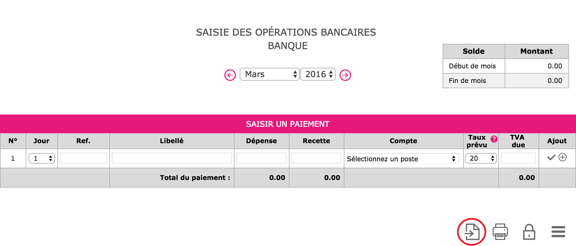 Guide Interactif Import Releve Bancaire